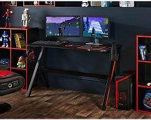 Customisable PC Gaming Office Desk RGB LED