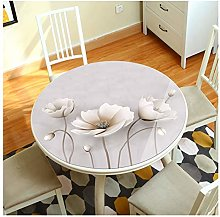 Customizable Round Table Protector, Pvc