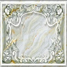 Customized Large - Scale Murals Marble Embossed Tv