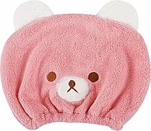 Cute Animal Cartoon Dry Hair Cap for Kids Quick