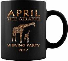 Cute Animal pet April The Giraffe wiewing Party