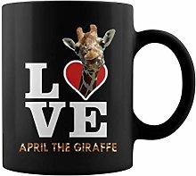 Cute Animal pet Love April The Giraffe Tshirt | 11