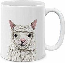 Cute Animals Coffee Gift Cup Tea Cup 11oz Purple