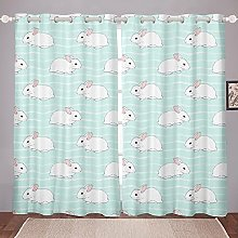 Cute Animals Curtain for Bedroom Children Cartoon