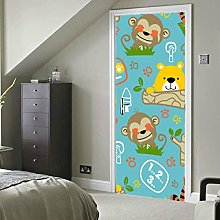 Cute Artistic Creative Smiley Doodle Self-Adhesive