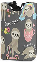 Cute Baby Sloth Laundry Hamper Basket Bucket