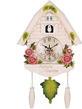 Cute Bird Wall Clock Cuckoo Alarm Clock Cuckoo