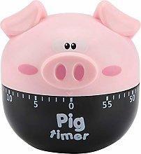 Cute Cartoon Pig Kitchen Timer Mechanical Timers