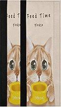 Cute Cat Refrigerator Door Handle Covers 2 Pcs