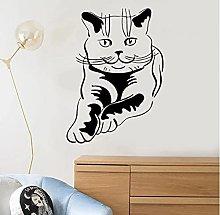 Cute Cat Wall Sticker Kitten Pet Animal Vinyl