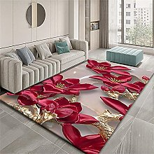 Cute Desk Decor Area Rugs For Living Room Red gold