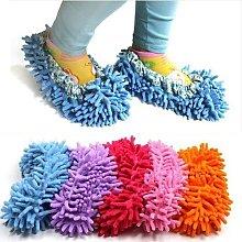 Cute Dust Mop Slippers Shoes Floor Cleaner Clean