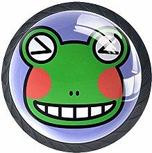 Cute Frog Winks Cabinet Door Knobs Handles Pulls