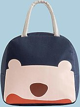 Cute Functional Pattern Lunch Box Insulated Canvas