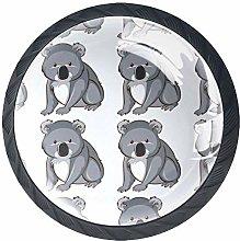 Cute Funny Australia Koala Pattern Cabinet Door