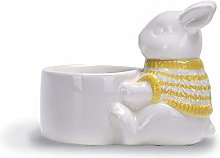 Cute Large Bunny Rabbit Egg Cup Set (2) - 2 Pack
