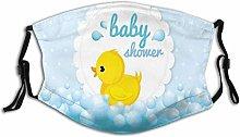Cute Little Yellow Duck Theme Bubble Ducky Party