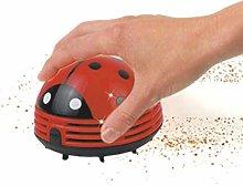 Cute Mini Beetles Corner Desk Table Dust Vacuum