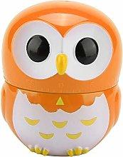 Cute Owl Shape Kitchen Manual Timer Mechanical