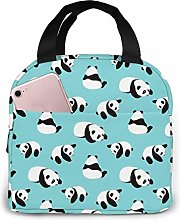 Cute Panda Lunch Bag Cooler Bag Women Tote Bag
