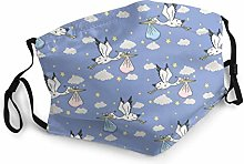 Cute pelicans fly carry bag in sky Adjustable