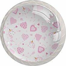 Cute Pink Unicorn Drawer knobs Pulls Handles Knobs