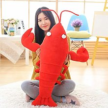 Cute Plush Toy Simulation Lobster Doll Soft Pillow