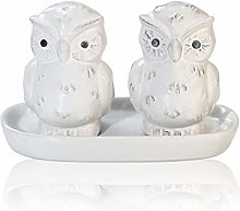 Cute Porcelain Salt and Pepper Shakers – Funny