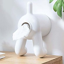 Cute Puppy PP Shape Toilet Paper Roll Holder, Wall