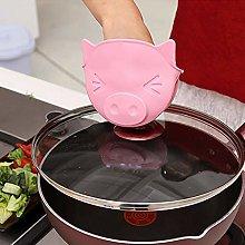 Cute Silicone Anti-Scale Oven Glove Glove Pot