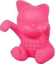 Cute Silicone Tea-Infuser (BPA-Free) in Cat Design