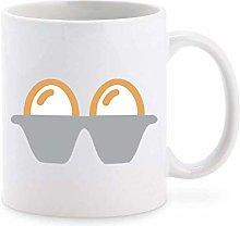 Cute Simple Breakfast Farm Egg Cartoon Emoji