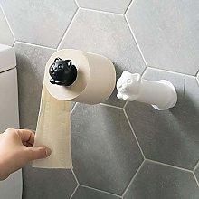 Cute Toilet Paper Holders Self Adhesive PVC Cool