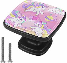 Cute Unicorn Drawer Pulls Handle Cupboard Cabinet
