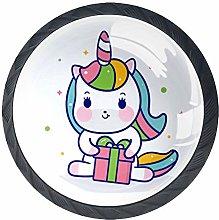 Cute Unicorn Knob Handles Door Knobs Cabinet Pulls