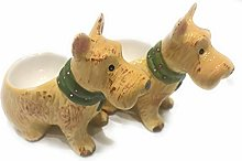 Cute Westie Dog Egg Cup Set - Dog Egg Cup Set -