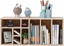 Cutelife Desktop bookshelf Desk Storage Organizer