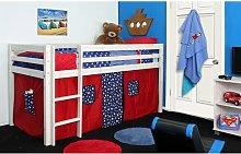 Cutler European Single Mid Sleeper Loft Bed
