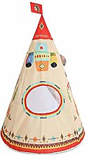Cuttey Teepee Tent For Kids, Portable Big Indian