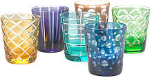 Cuttings Water glass - / Set of 6 by Pols Potten