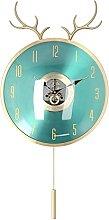 CUTULAMO Copper Clock, Modern Nordic Clock for