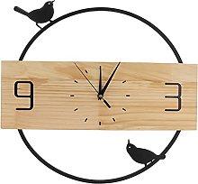 CUTULAMO Wall Clock, Mute Clock Hollow Pointer for