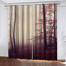 CUYQNS Blackout Curtain Thermal Insulated for