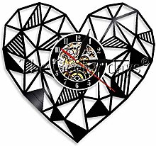 CVG 1Piece Geometric Heart Art Personalized Black