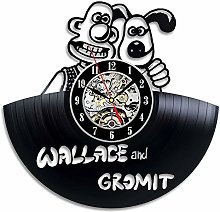 CVG Antique Style Cartoon Theme CD Record Wall