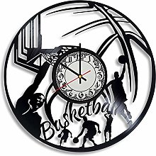 CVG Basketball Game Vinyl Record Wall Clock,