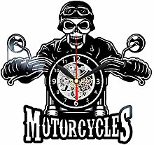 CVG Biker Wall Clock Motorcycle Theme Decor Gifts