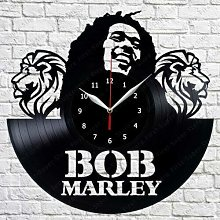 CVG Bob Marley Music Vinyl Record Wall Clock Fan