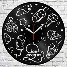 CVG Ice Cream Vinyl Record Wall Clock Art Decor