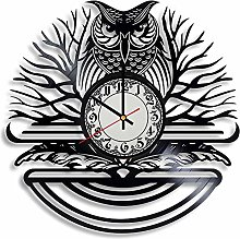 CVG Owl Lover Gift Clock, Bird House Decor, owl